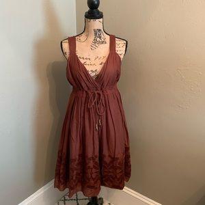 Banana Republic Brown Summer Dress